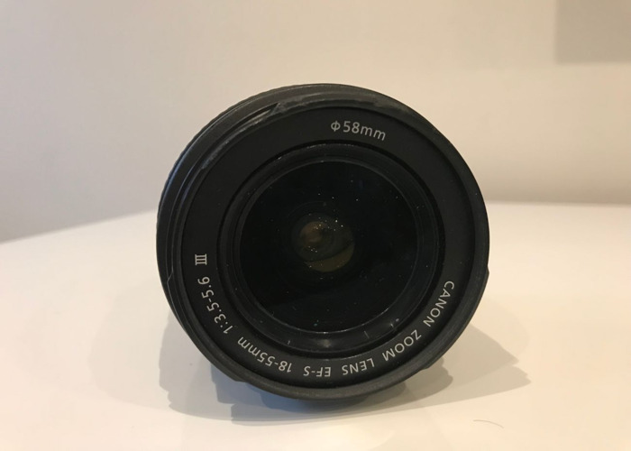 Canon EF-S 18-55mm f/3.5-5.6 lens - 2