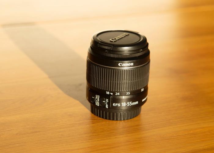 Canon EF-S 18-55mm f/4-5.6 IS STM Lens - 2