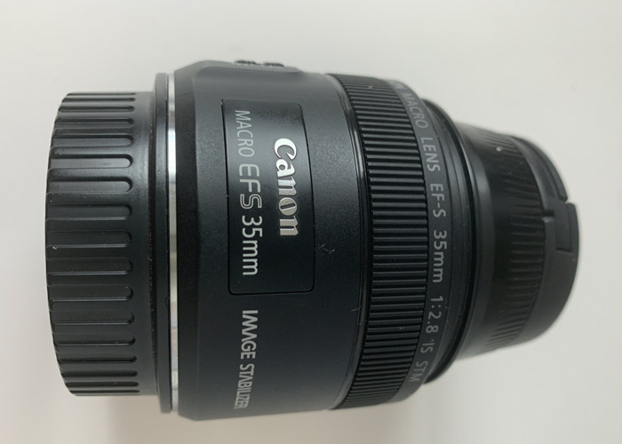Canon EF-S 35mm f/2.8 IS STM Macro Lens - 1