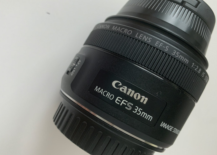 Canon EF-S 35mm f/2.8 IS STM Macro Lens - 2