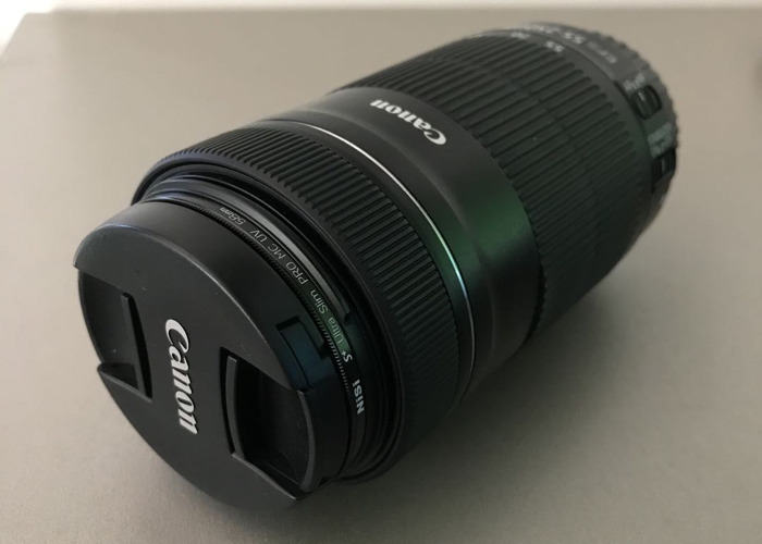 Canon EF-S 55-250mm f/4-5.6 IS - 1