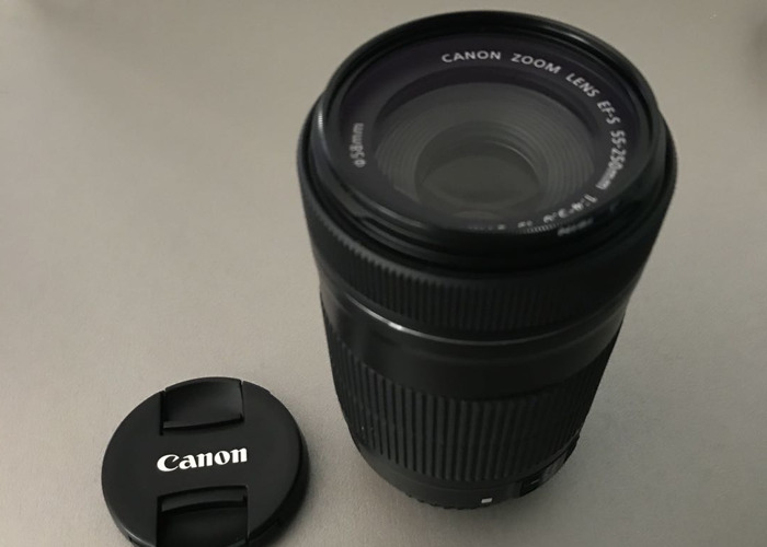 Canon EF-S 55-250mm f/4-5.6 IS - 2