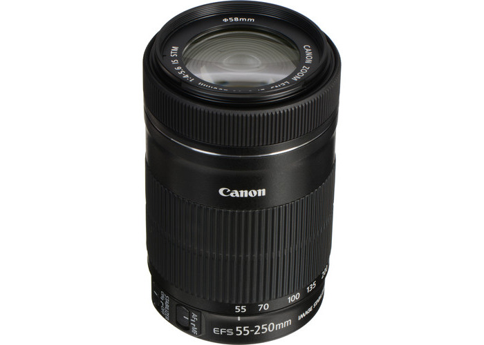 Canon EF-S 55-250mm f/4-5.6 IS STM Lens - 1