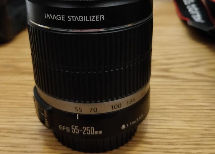 Canon efs 55-250mm lens  - 1