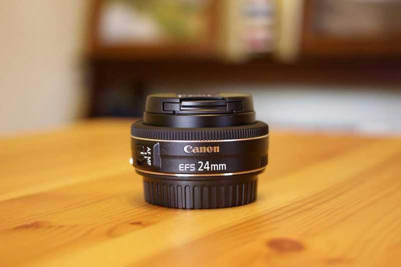 Canon EF-S 24mm f2.8 STM Lens - 1