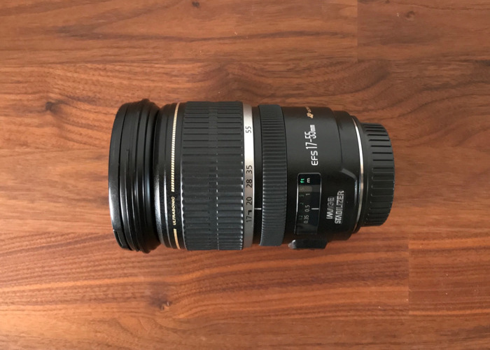 Canon EFS lens 17-55mm f/2.8 IS USM - 1