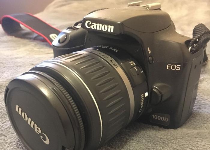 Canon EOS 1000D + 2 lenses - 1