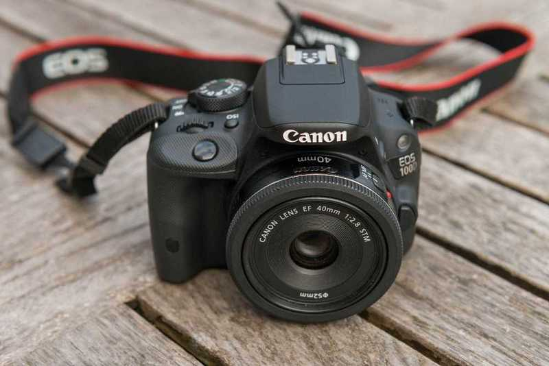 Canon EOS 100D Camera with 18-50mm Lens - 1