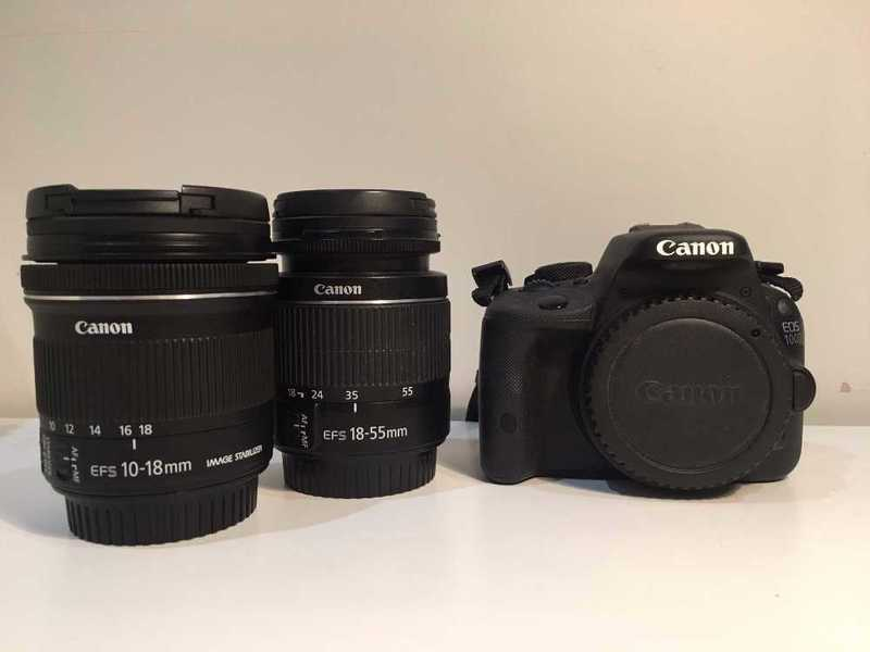 Rent Canon EOS 100D Camera with Lenses in London