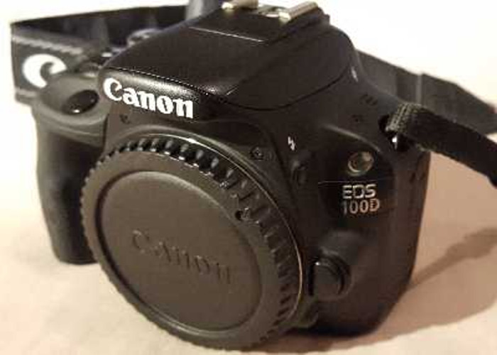 Canon Eos 100d plus 3 lenses - 1