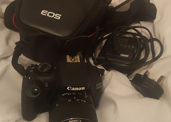 Canon EOS 1200D DSLR Camera w/ 18-55mm lens and case - 2