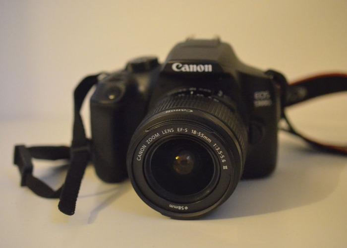 Canon EOS 1300D + EFS Canon 18-55mm  - 1