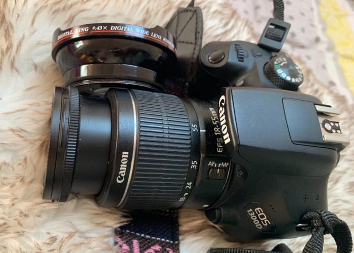 Canon EOS 1300D Camera - 1