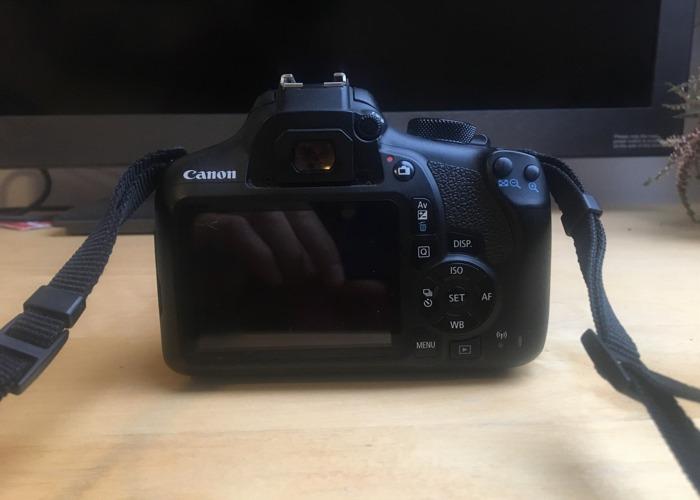 Canon EOS 1300D DSLR Camera - 2