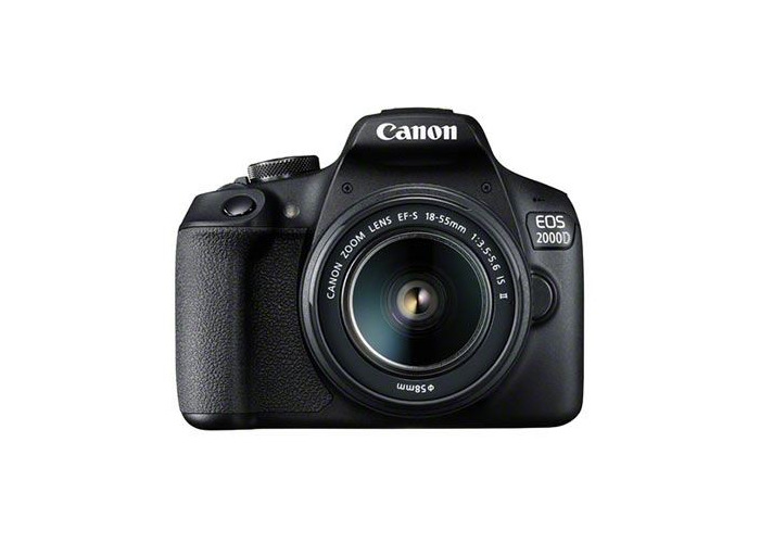 Canon EOS 2000D Digital SLR Camera with 18-55mm IS II Lens - 1