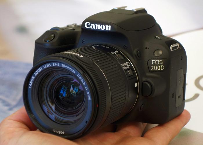 Canon EOS 200D DSLR Camera - 2