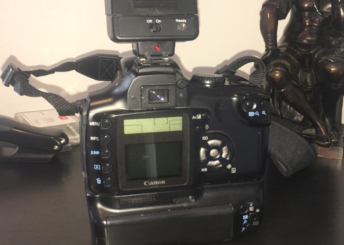 Canon EOS 300D Digital camera and Cobra flash - 2