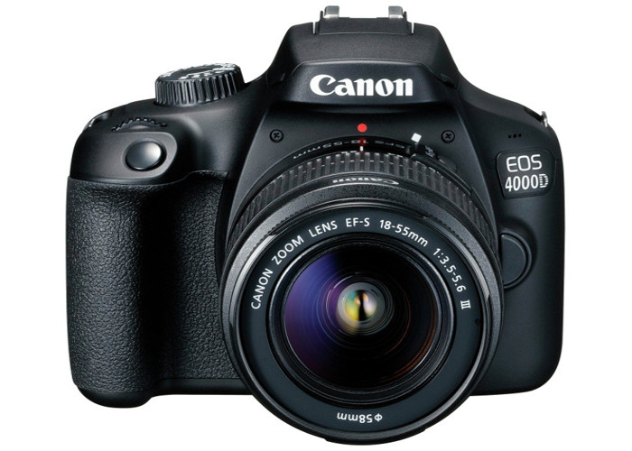 Canon EOS 4000D DSLR Camera Body with 18-55mm Lens - 1
