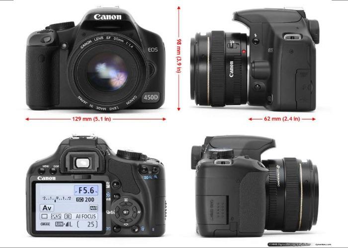 Canon EOS 450d Digital SLR - 2