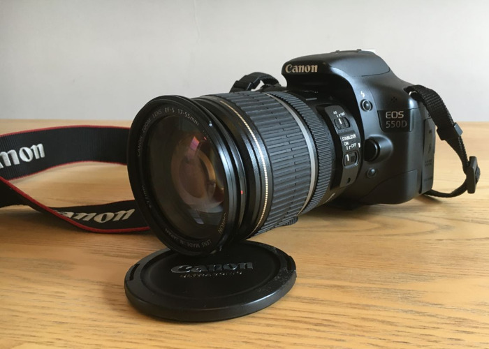 Canon DSLR  EOS 550D with 17-55mm f2.8 lens 1755mm - 1