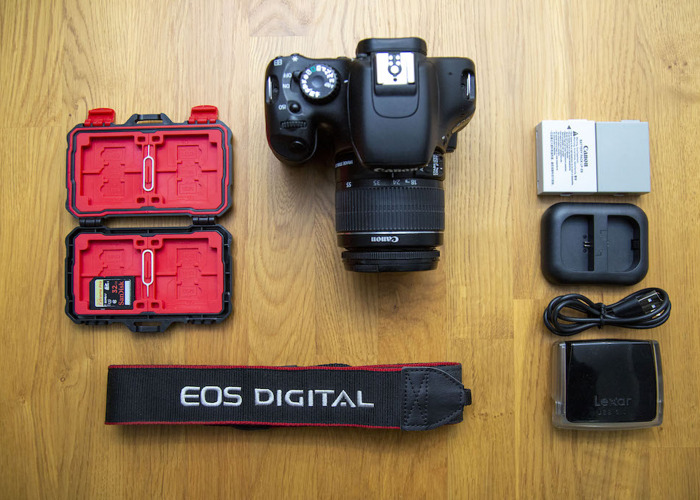 Canon EOS 550D/T2i + Canon EF-S 18-55mm f/4-5.6 IS STM Lens - 1