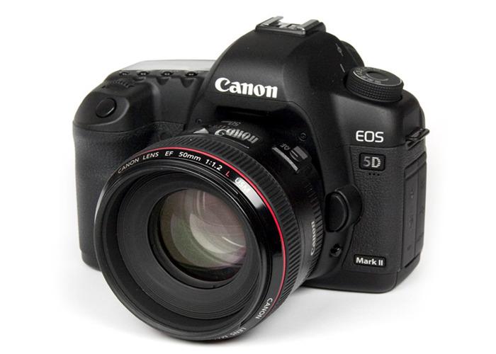 Canon EOS 5D Mark II Body + Lens + Battery + Memory Cards Bundle - 1