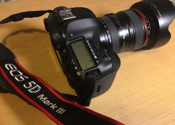 Canon EOS 5D Mark III + 24 - 105 lens - 1