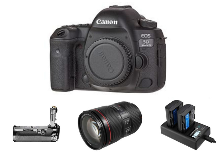 Canon 5d MKIV w/ Canon 24-105mm IS II Lens | Mk4 - 1