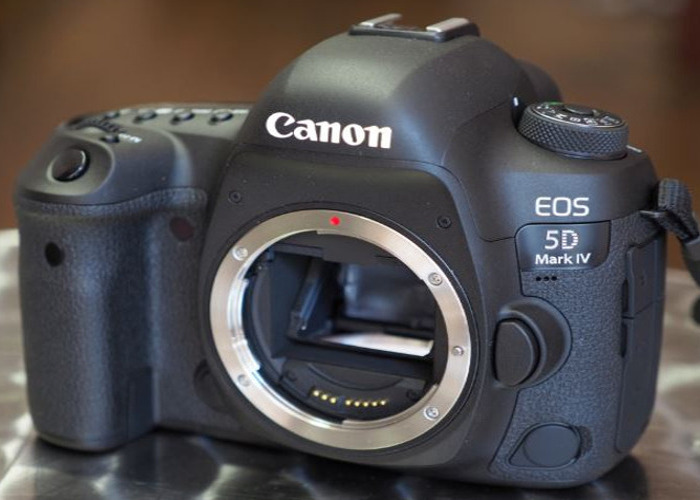 Canon EOS 5D Mark IV Digital SLR Camera Body - 1