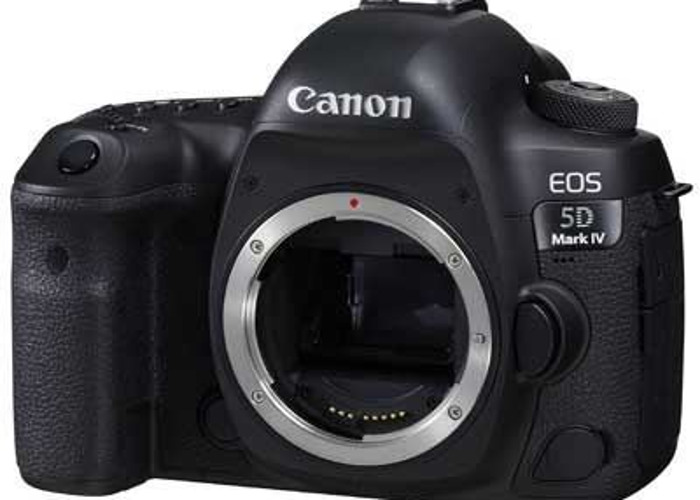 Canon EOS 5D Mark IV Digital SLR Camera Body - 1