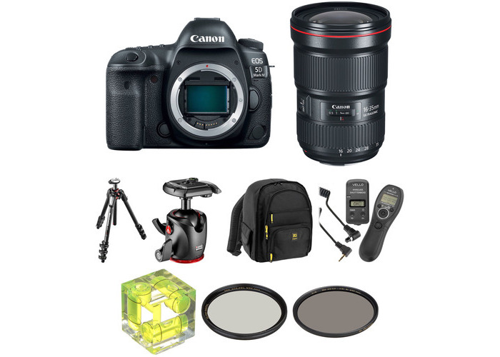 Canon EOS 5D Mark IV DSLR Camera with 16-35mm f/2.8 Lens Landscape Kit - 1