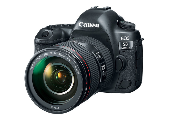 Canon EOS 5D Mark IV DSLR Camera with 24-105mm f/4L II Lens - 1