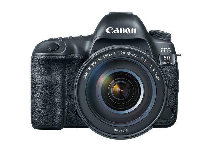 Canon EOS 5D Mark IV DSLR Camera with 24-105mm f/4L II Lens - 2