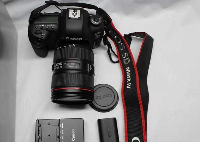 Canon EOS 5D Mark IV with EF 24-105mm f/4L IS II USM Lens - 2