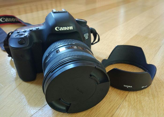 Canon EOS 5D Mark3 + Sigma 24-70mm f/2.8 lens - 2