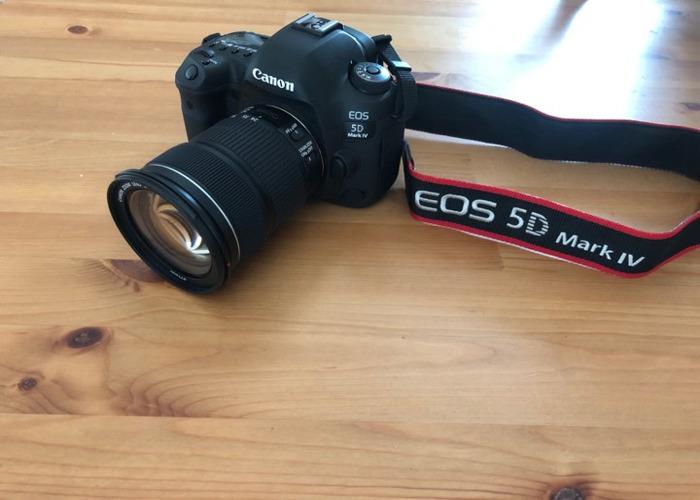 Canon EOS 5d Mk 4 Camera + EF 24-105mm F3.5-5.6 IS STM Lens - 1