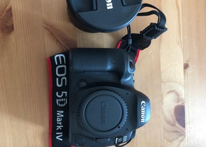Canon EOS 5d Mk 4 Camera + EF 24-105mm F3.5-5.6 IS STM Lens - 2