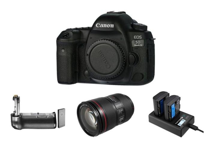 Canon EOS 5D MKIV Camera w/ Canon EF 24-105mm f/4L IS II | MK4 | Mark 4 - 1