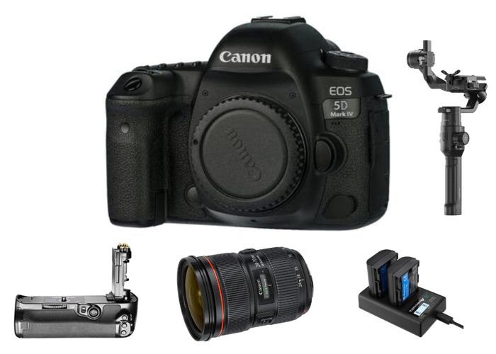 Canon EOS 5D MKIV w/ Canon EF 24-70 & DJI Ronin S Combo - 1