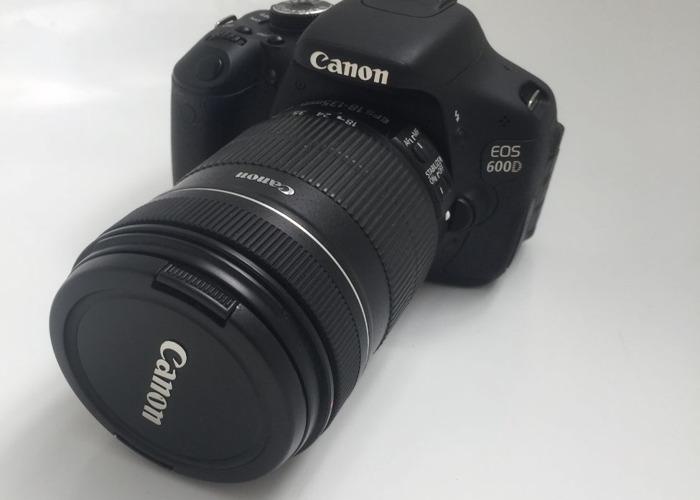 Canon EOS 600D Camera - 1