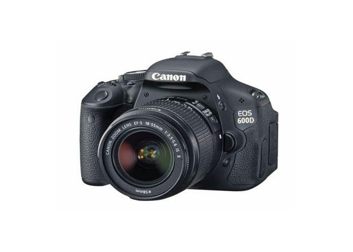 Canon EOS 600D. Basic lenses included. - 1