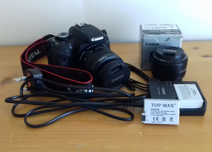 Rent Canon EOS 600D Package in Woking