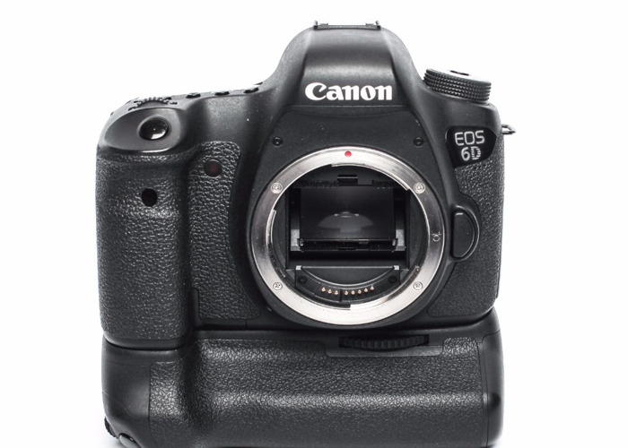 Canon EOS 6D (Body + Battery Grip Only) - 1