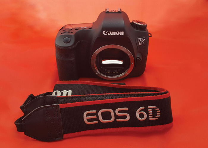 CANON EOS 6D DSLR CAMERA - 1