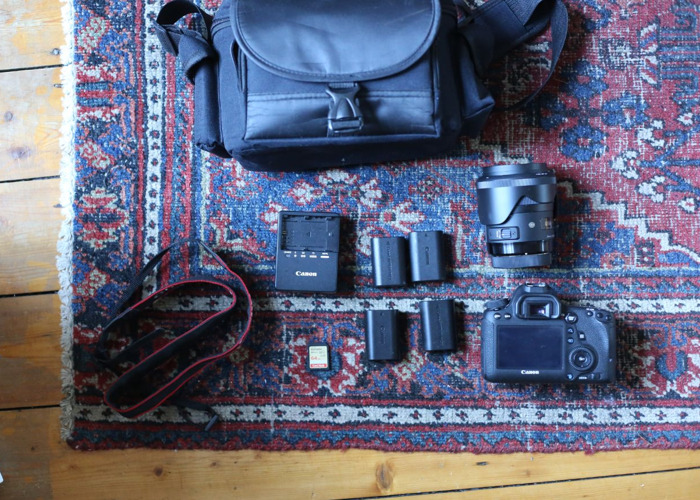 Canon EOS 6D Full Frame Camera w/ Sigma Art 35mm f/1.4 Lens - 1