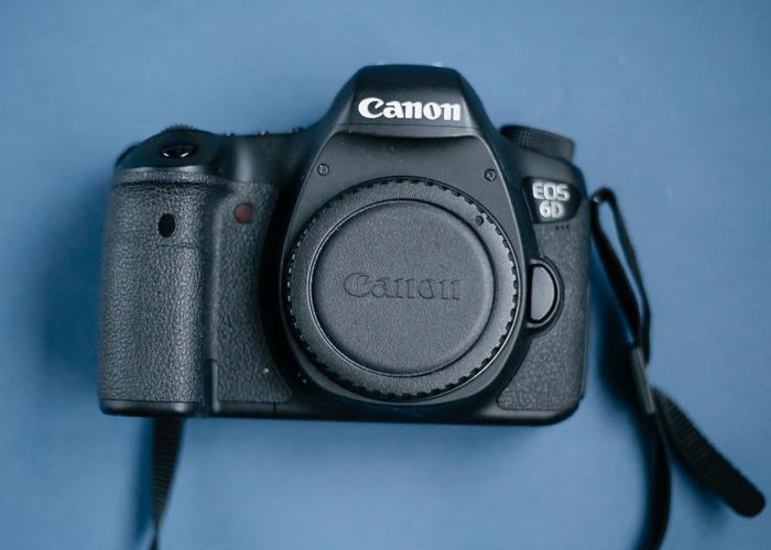Canon EOS 6D Full Frame Camera w/ Sigma Art 35mm f/1.4 Lens - 2