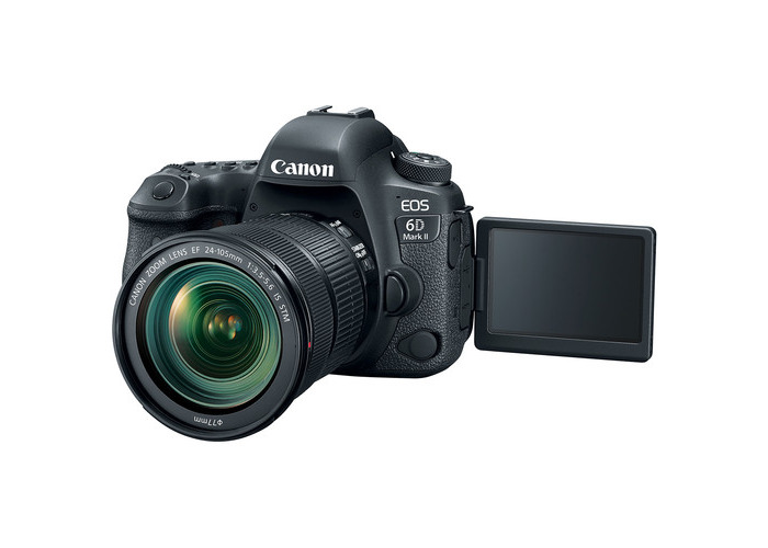 Canon EOS 6D Mark II DSLR Camera with 24-105mm f/3.5-5.6 Lens - 2