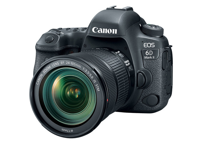 Canon EOS 6D Mark II DSLR Camera with 24-105mm f/3.5-5.6 Lens - 1