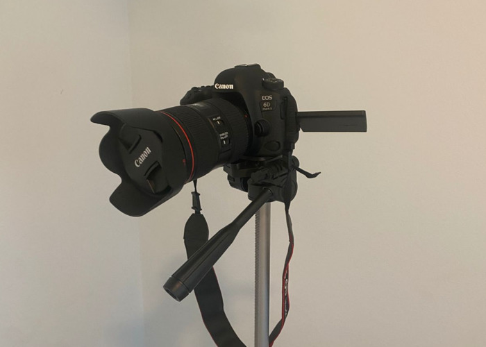 Canon EOS 6D Mark II DSLR Camera with EF 24-105mm USM Lens  - 1