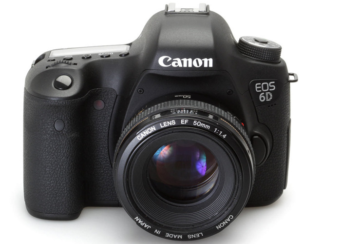 Canon EOS 6D with 50mm f1.4 Lens - Full Frame Camera - 1